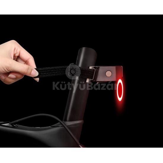 Kerékpár hátsó lámpa, bicikli lámpa, ledes kerékpár lámpa