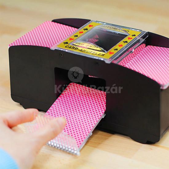 Automata kártyakeverő gép