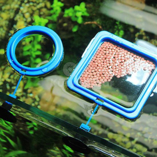 2 db Akváriumi etető gyűrű