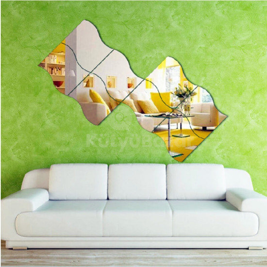 Tükörmatrica, dekor tükör