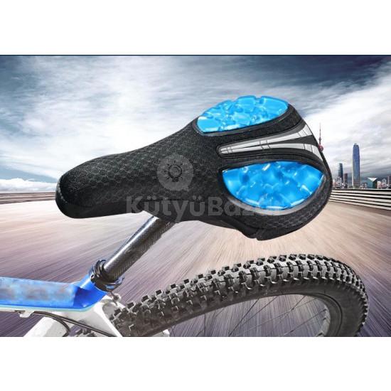 Ergonomikus kialakítású bicikli nyereghuzat