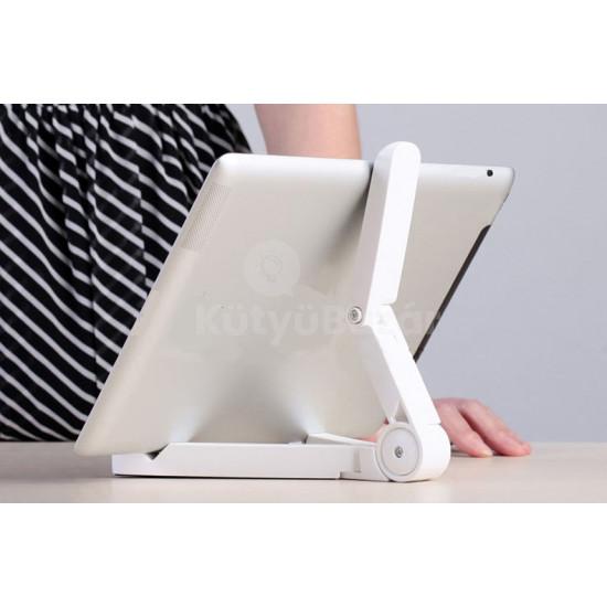 Összecsukható kompakt tablettartó