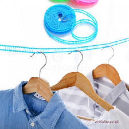Csúszásmentes szélálló ruhaszárító kötél