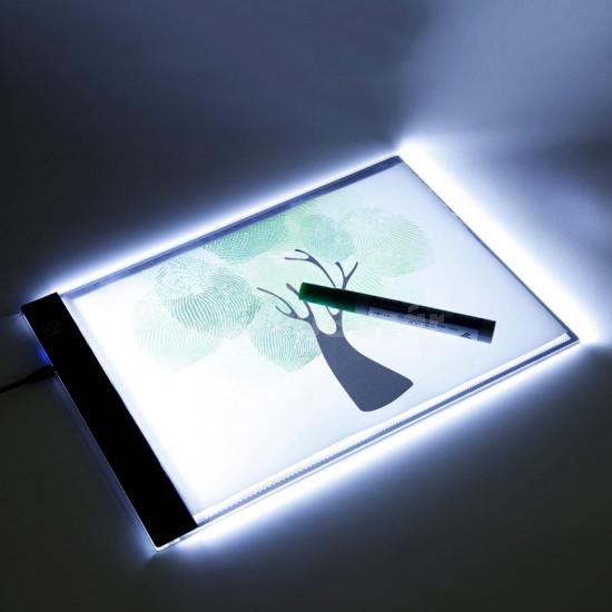 Világító rajztábla, LED rajztábla, átrajzoló tábla
