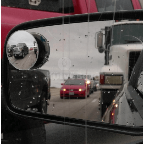 Holttér tükör, visszapillantó tükör kiegészítő (forgatható)