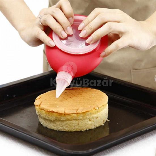 Tortadíszítő, sütemény kinyomó, krémnyomó, macaron készítő