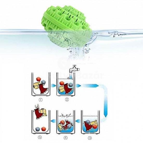 Környezetbarát mosógolyó