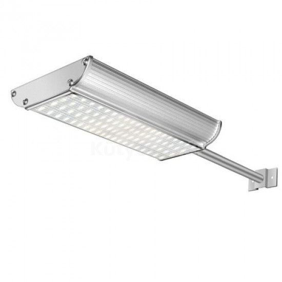 Novion 70-es LED-es napelemes fali utcalámpa 5 világítási móddal, mozgásérzékelővel