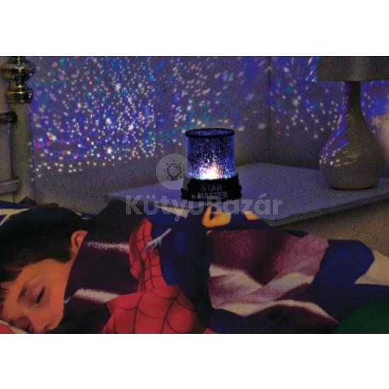 Gyerek éjjeli lámpa, hangulatlámpa, csillagos égbolt lámpa, csillagkivetítő
