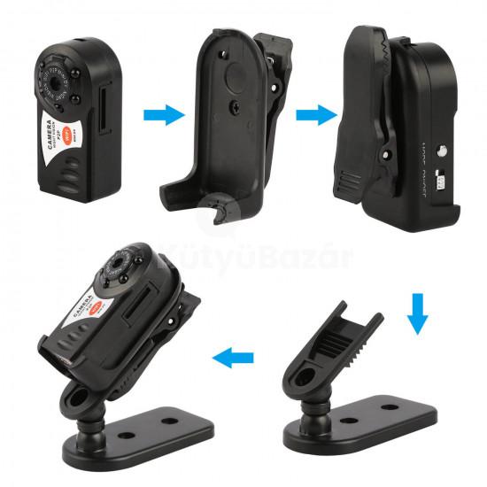 WiFi-s kamera, mini kamera, biztonsági kamera (éjjellátó)