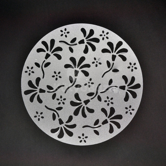 Tortadíszítő kellék, tortadíszítő sablon (4 minta)