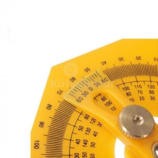 Professzionális szögmérő vonalzóval
