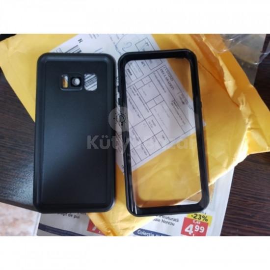 Vízálló és ütésálló tok Galaxy S8 S8+ S9 telefonokhoz