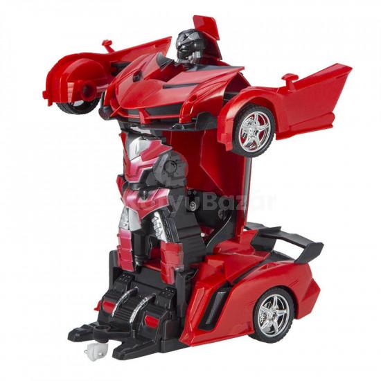 Távirányítós autó, játékautó, robottá alakítható autó