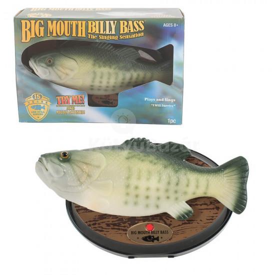 Éneklő hal falidísz