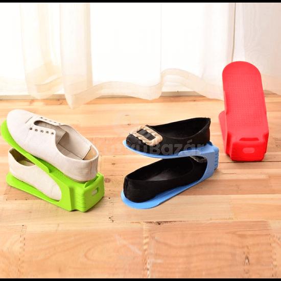 Cipőtároló, helytakarékos cipőrendező