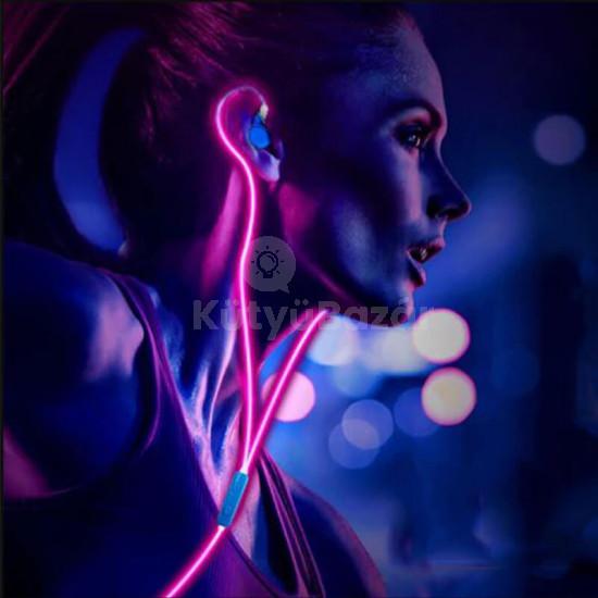 Intelligens világító fülhallgató