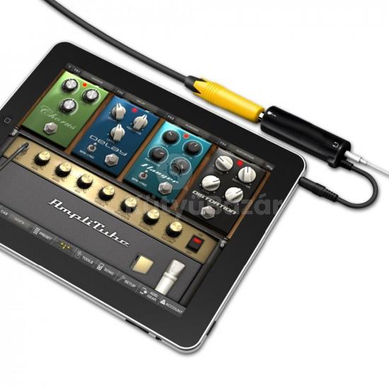 Gitár interfész iPhone, iPod, iPad készülékhez