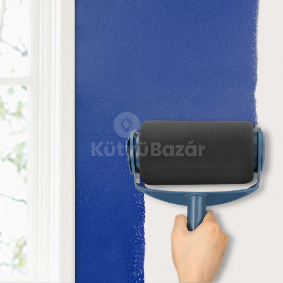 Festőhenger készlet, festőhenger festékadagolós tartállyal