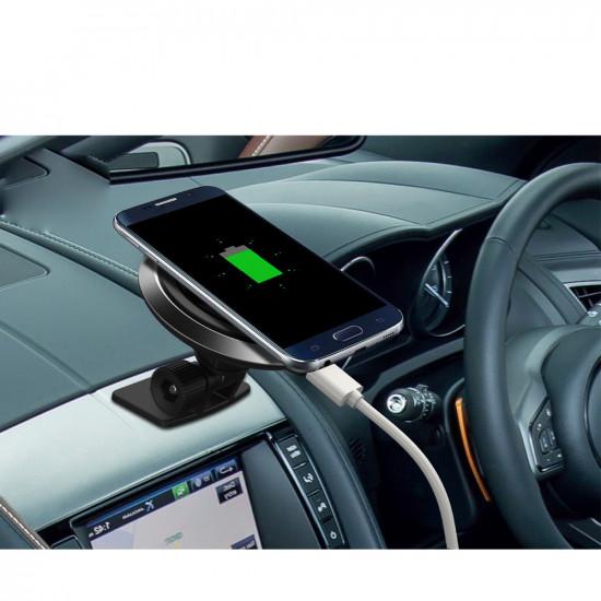 Vezetéknélküli autós töltő Samsung S6/S6 Edge/S6 Edge+/S7/S7 edge/NOTE 5