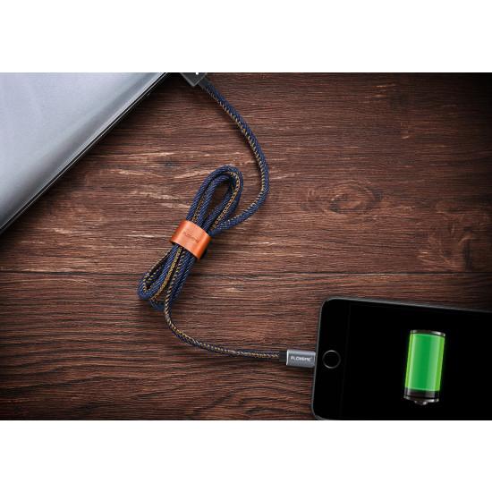 Farmer stílusú USB adat és töltőkábel iPhone 7 7 Plus 6 6s Plus 5s SE iPad