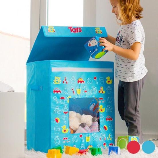 Összehajtható játéktároló doboz