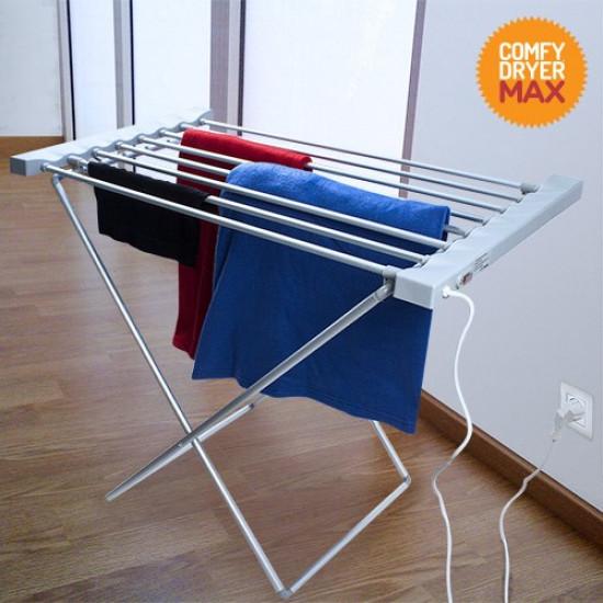 8 rudas elektromos ruhaszárító törölközőszárító állvány