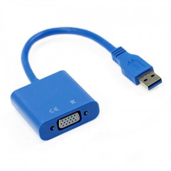 USB 3.0 - VGA átalakító adapter