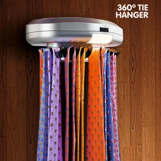 360º Elektromos nyakkendő tároló
