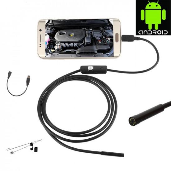 5 méter Vízálló Android Endoszkóp kamera