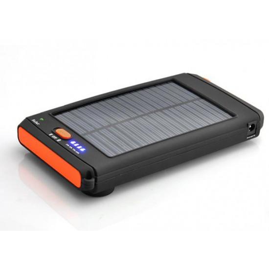 11200 mAh akkumulátoros napelemes laptop telefon és tablet töltő egyben!