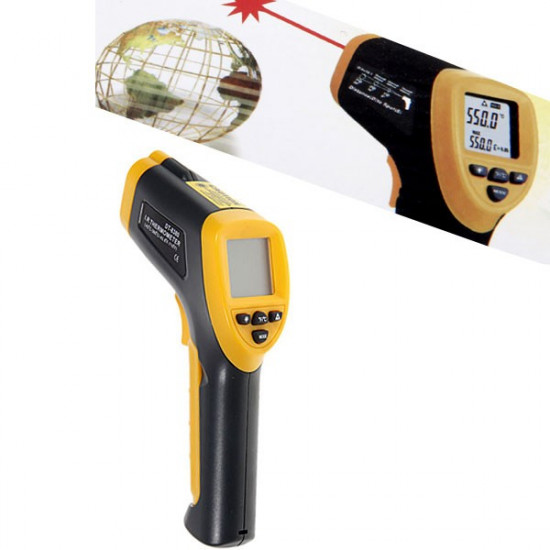 Digitális infra hőmérő
