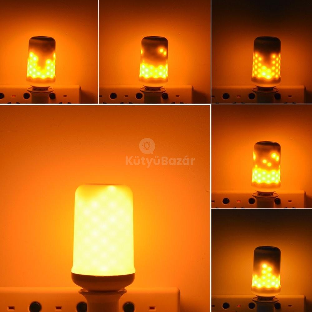 Tűzhatású LED lámpa (égő)   faszacuccok.hu