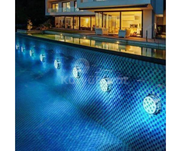 LED medence világítás, RGB medence Lámpa (16 db világítási mód)