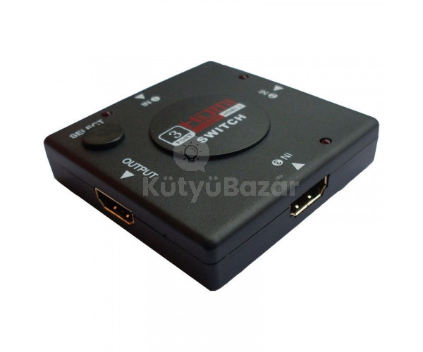 HDMI switcher elosztó 3 port HDMI switch