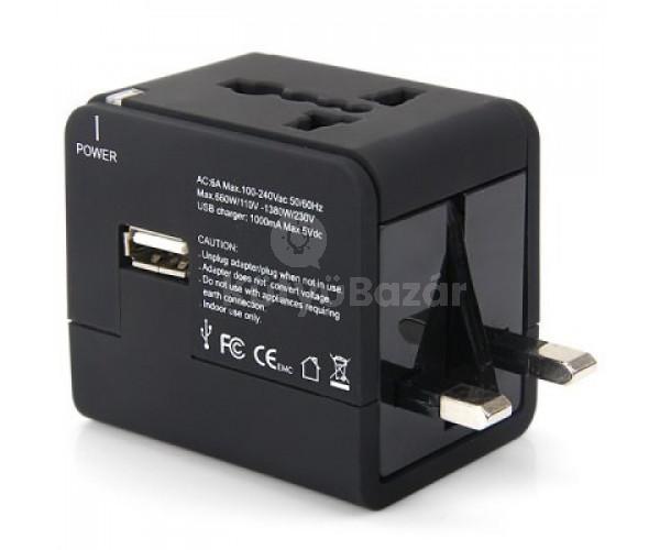 Minden országban használható univerzális USB adapter