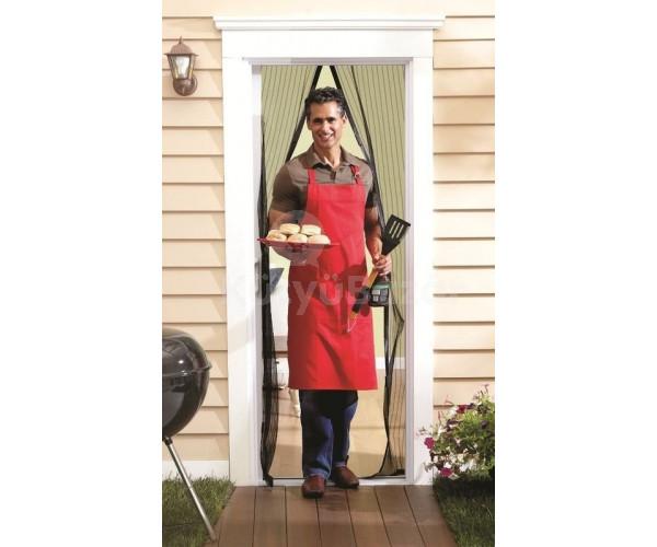 Mágneses szúnyogháló bejárati ajtóra