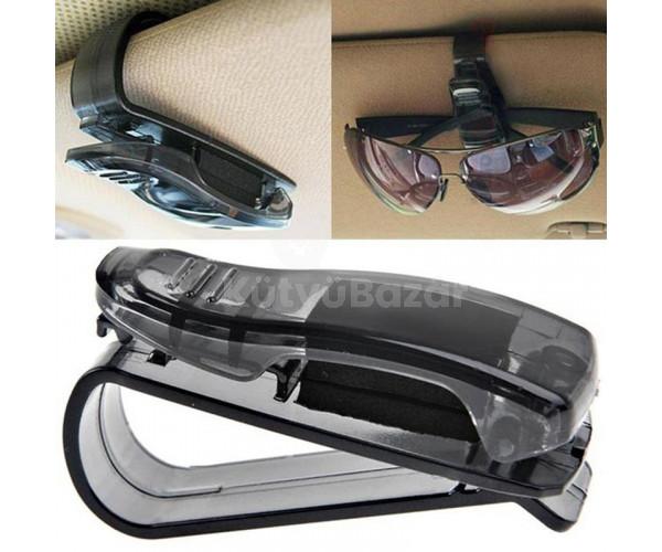 Univerzális szemüveg, napszemüvegtartó autóba