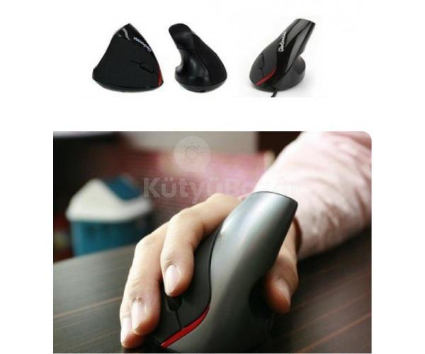 Vertikális ergonómikus USB egér