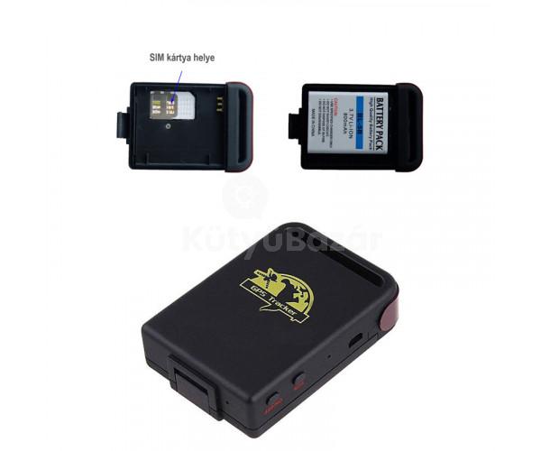 GPS Tracker, GPS nyomkövető GT-002