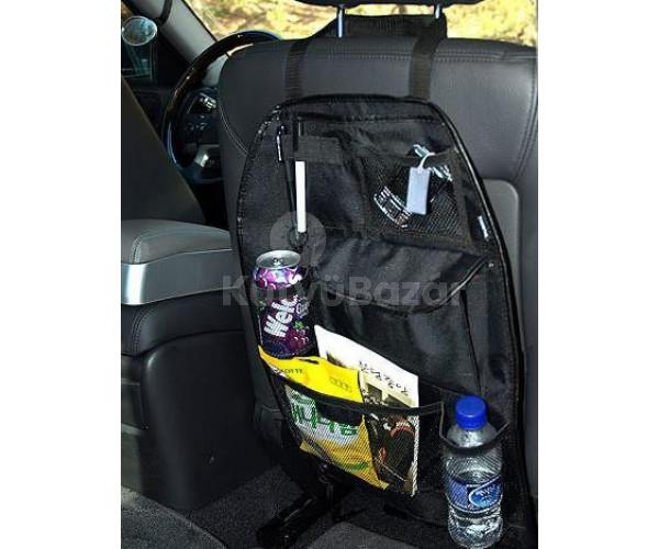 Ülésre húzható multifunkciós tároló, autós neszeszer