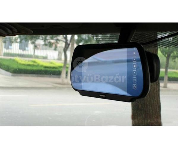 """7"""" Visszapillantó tükör monitor"""