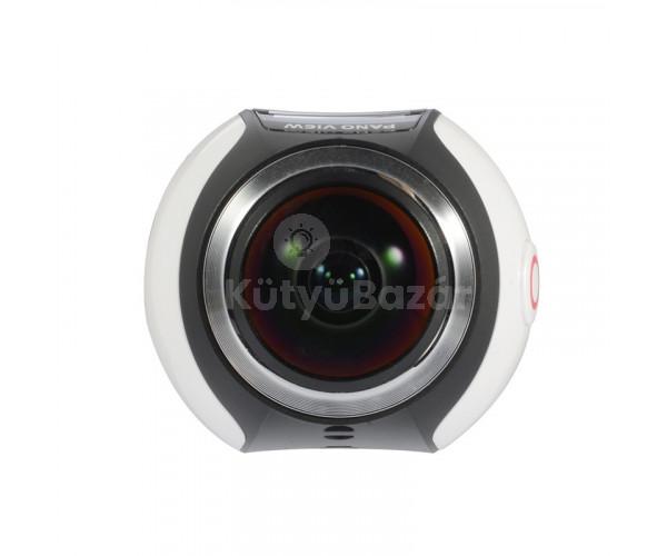 360°-os Panoráma Akció Kamera 4K, WiFi