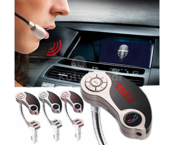 Flexibilis FM transmitter USB csatlakozókkal