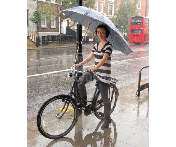Kormányra szerelhető esernyőtartó
