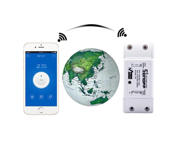Wifi-s hálózati kapcsoló