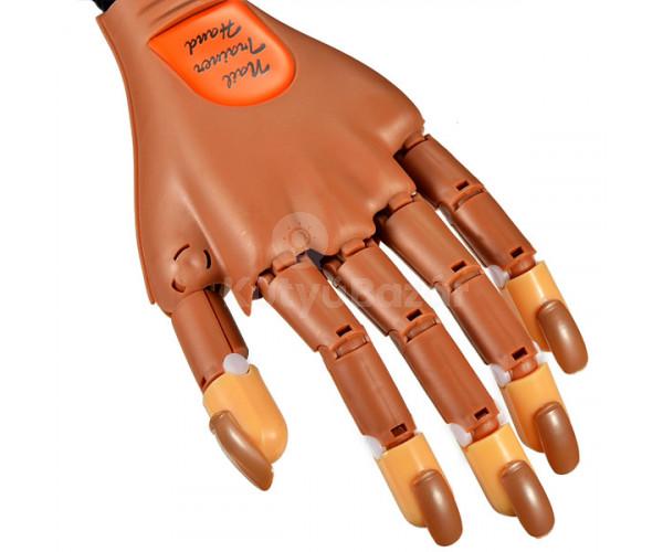 Profi gyakorló kéz műkörömépítéshez