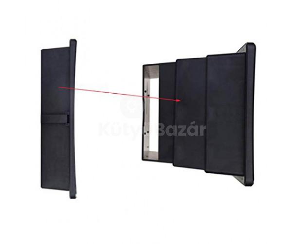 Teleszkópos mobiltelefon kijelző nagyító - Fekete