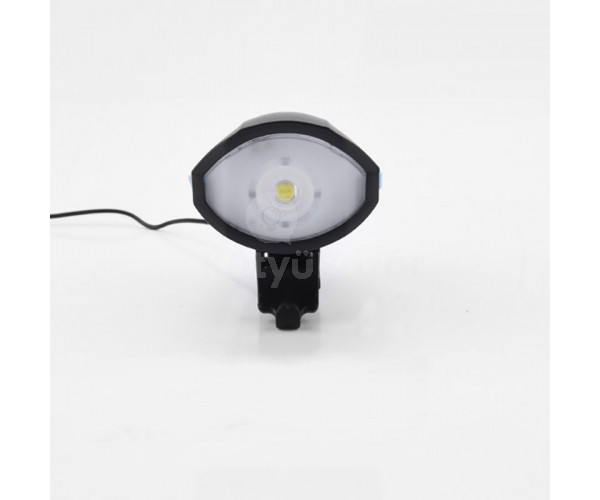 USB-ről tölthető első kerékpár lámpa és hangjelző