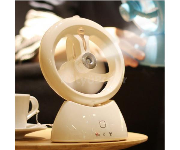 USB-s párásító ventilátor